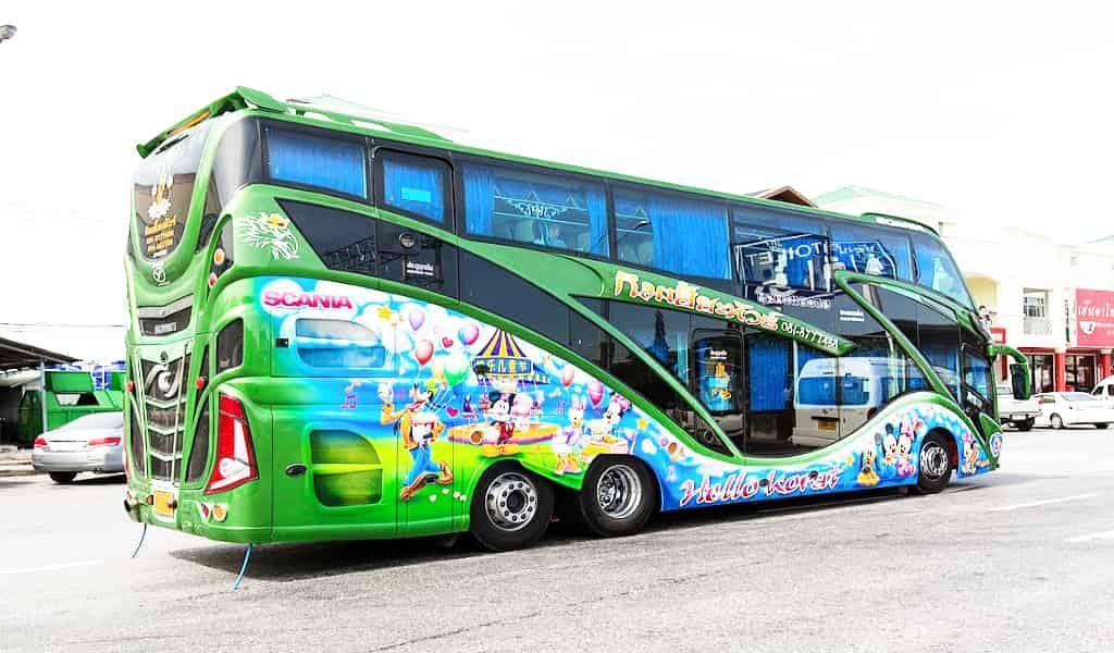 Phuket to bangkok travel by bus