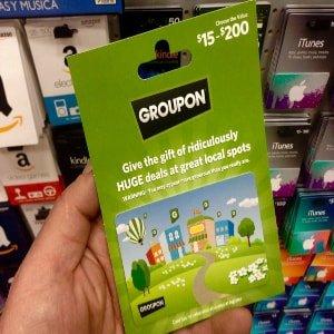 Gift voucher for a Groupon/LivingSocial