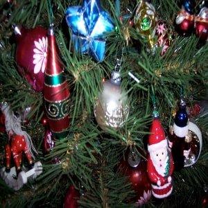 Gift Christmas tree ornament