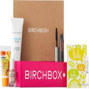 Gift subscription to BirchBox