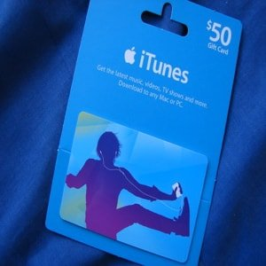 A mix CD, a $10 iTunes gift card, or a month (or two) of Spotify, Tidal, or Apple Music