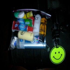 Gift travel-size toiletries