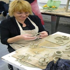gift handmade creative mugs from clay