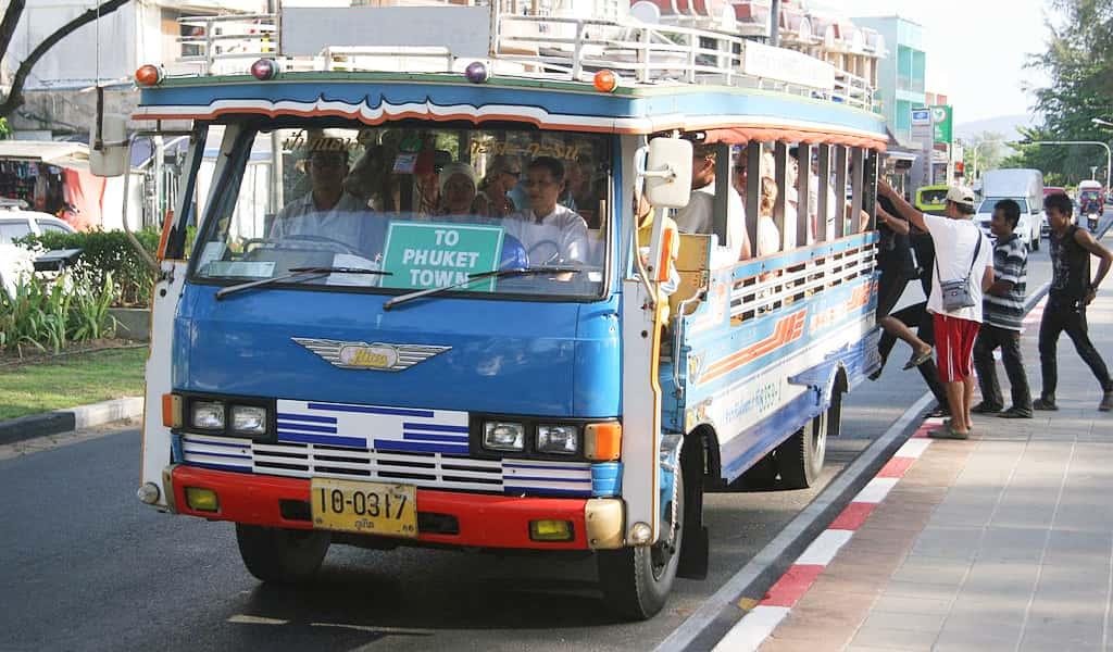 patong to phuket town local bus