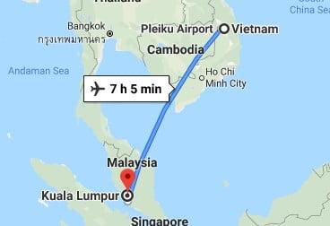 Vietnam to Malaysia, Southeast Asia Travel Budget