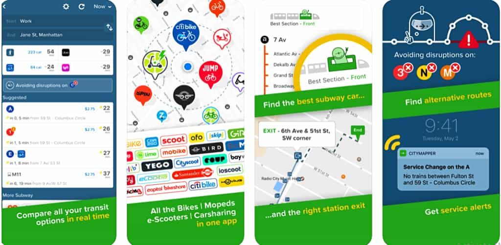 Citymapper is one of the best apps for New York city
