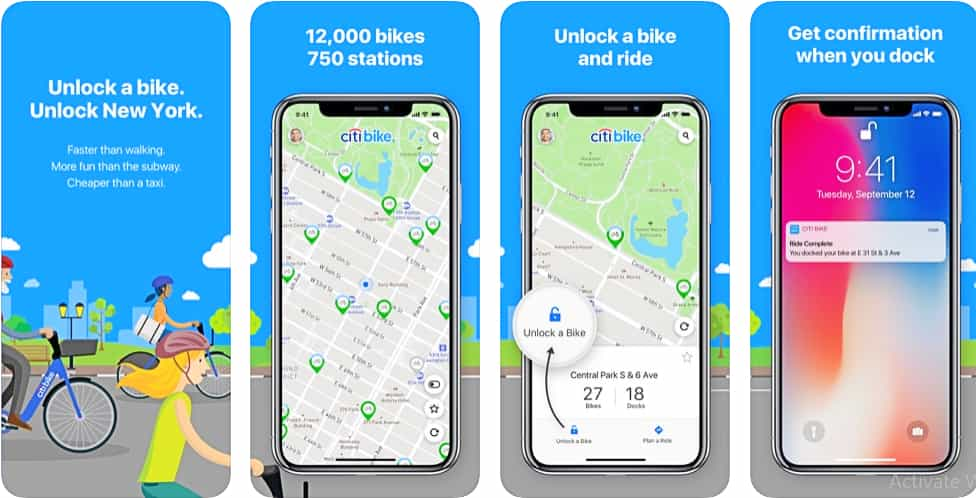 city bike app for new york