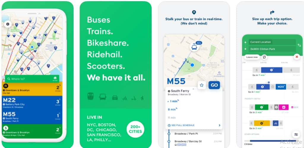 best app for NYC Subway, Bus, Rail (MTA)