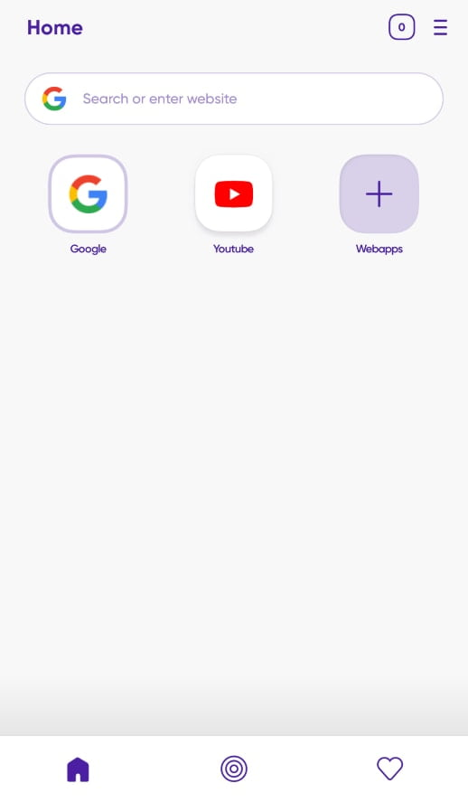 added app on the home page tutorial