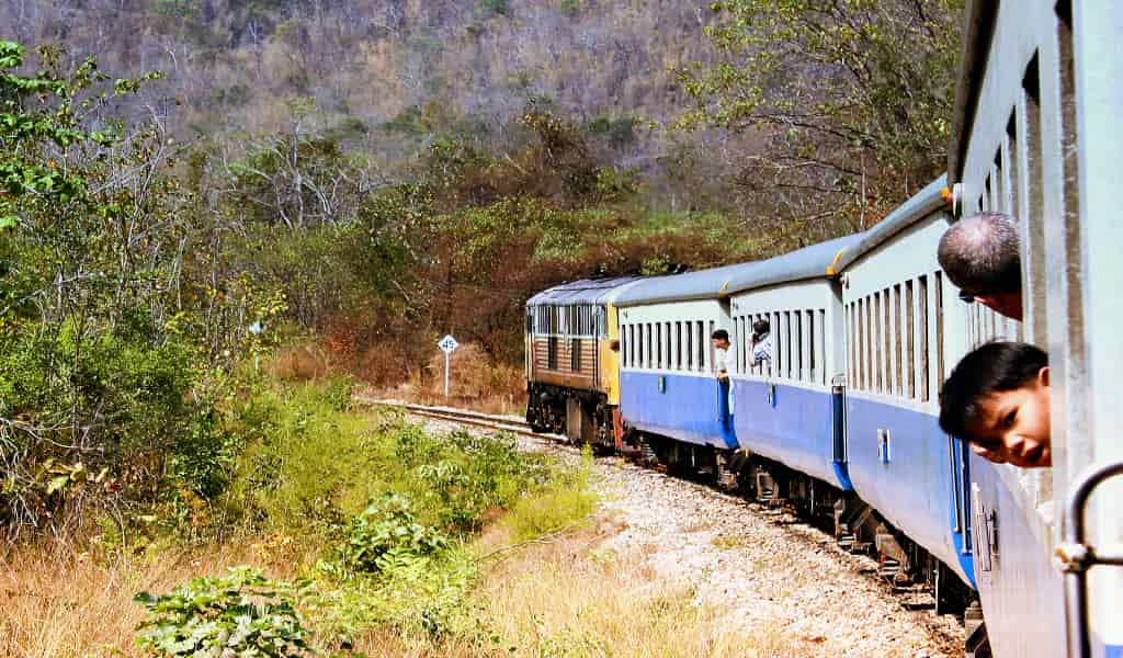 Phuket to bangkok travel by train