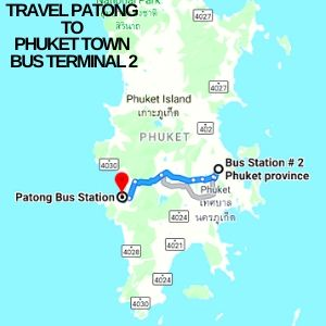 Patong to Phuket town bus terminal 2 travel [currentyear] 1