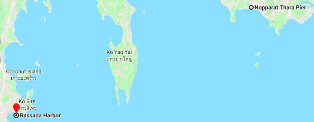 Nopparat Thara, Krabi to Rassada Pier, Phuket