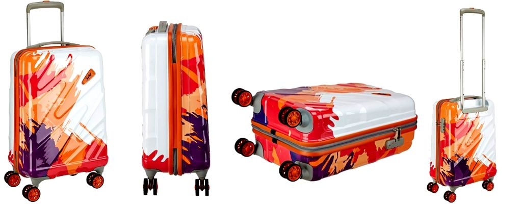 Skybags Polycarbonate 22 inches or 55cm travel trolley