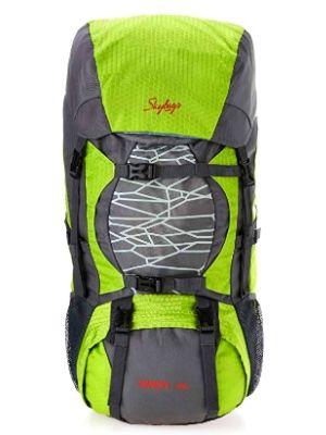 Skybags Nylon 55 Ltrs Grey Hiking Rucksacks