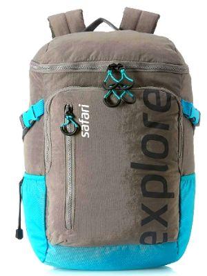 Safari 39.27 Ltrs Grey Casual Backpack (Explorer 20 HY Gry)