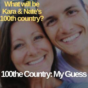 Kara and Nate Buchanan 100 countries list 4