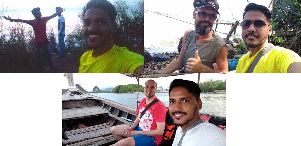 Travel buddies I met when THAILAND TRAVELING on BUDGET