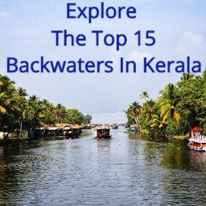 top 15 backwaters in Kerala