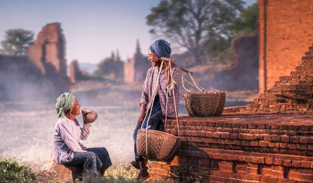 Myanmar: $15-20 per day