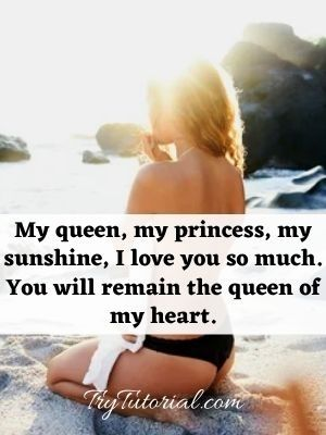 You Are Special To Me Quotes For Girlfriend