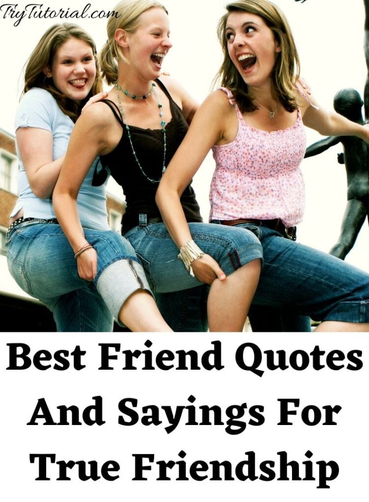 Best Friend Quotes And Sayings For True Friendship
