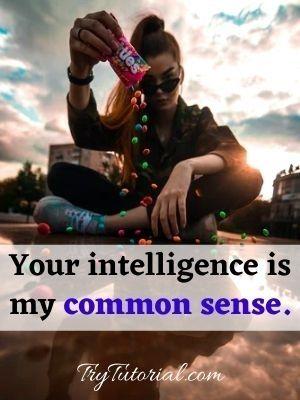 Common Sense Quotes About Me