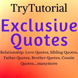 trytutorial-home Quotes
