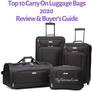 Top 10 Best Carry On Luggage Bags [currentyear] Review & Buyer's Guide 3