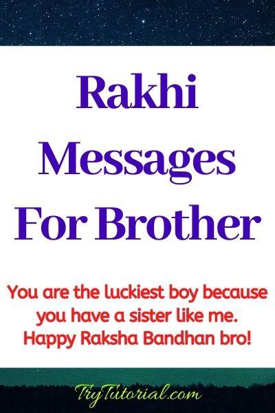Raksha Bandhan Quotes for Sister