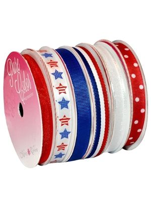 Nylon Morex Ribbon 6-Pack Polyester, 39-Yd