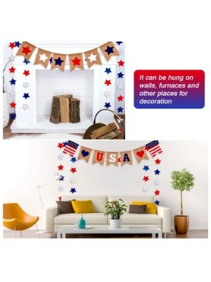 4th of July Patriotic Hanging Decoration