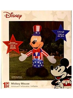 Inflatable Mickey Mouse Uncle Sam