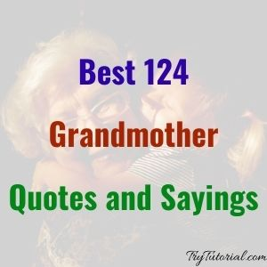 Best 120+ Grandmother Quotes and Sayings [currentyear] 1