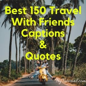 Best 130 Travel With Friends Captions & Quotes [currentyear] 2