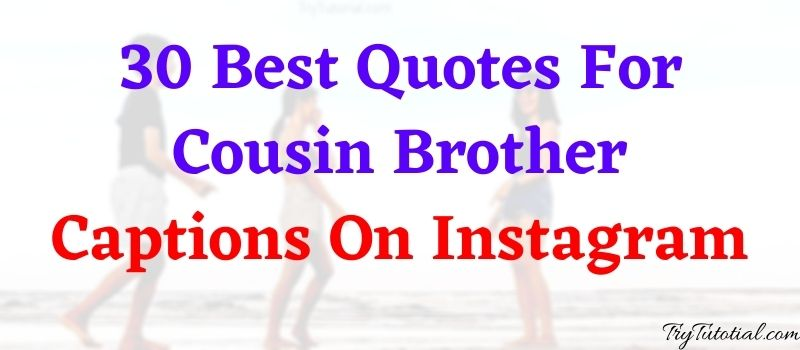 quotes for cousins bonding