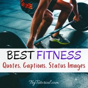 Best Fitness Quotes Images