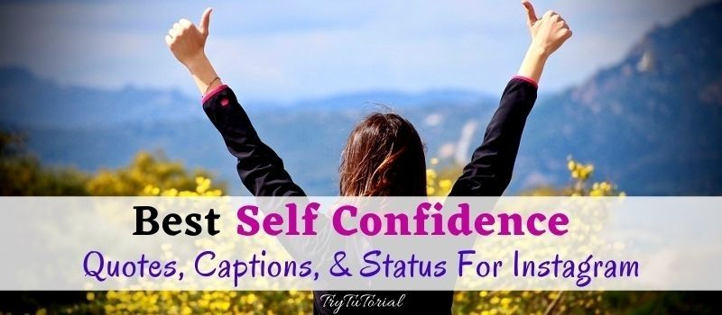 Best Self Confidence Quotes