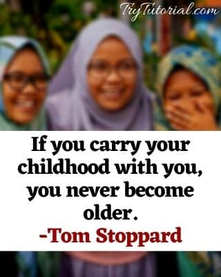 Funny Childhood vs Adulthood Quotes For Captions