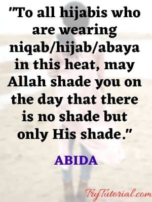 hijab caption