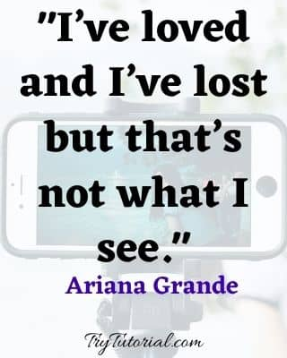 Popular Selfie Quotes From Song For Instagram