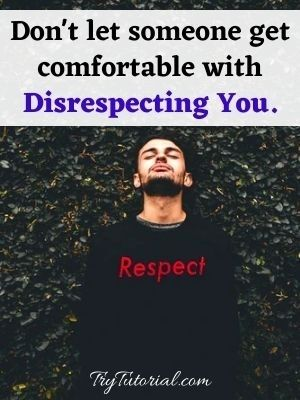 Quotes On Self Respect In Relationships