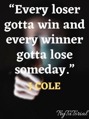 Amazing J Cole Quotes About Success