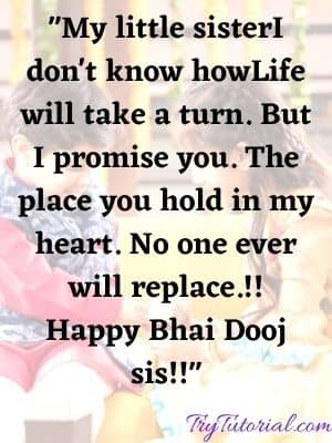 Happy Bhai Dooj Wishes & Quotes For Sister