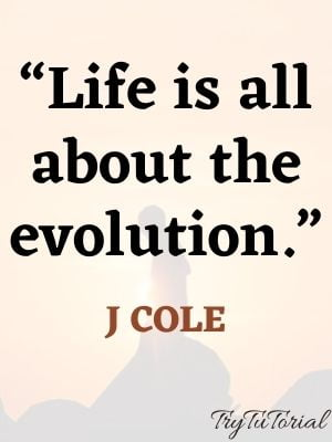 Motivating J Cole Quotes About life