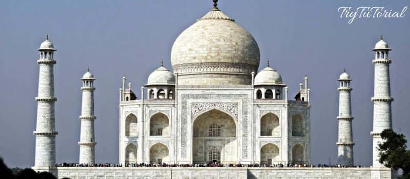 Taj Mahal Summer View