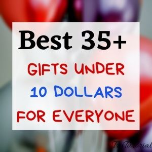 Gifts Under 10