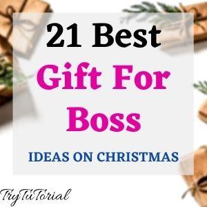 Best Gift For Boss Ideas