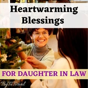 Blessing For Daughter In Law For Any Occasion