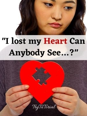 I lost my Heart one line love quotes