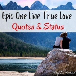 True Love Quotes & Status